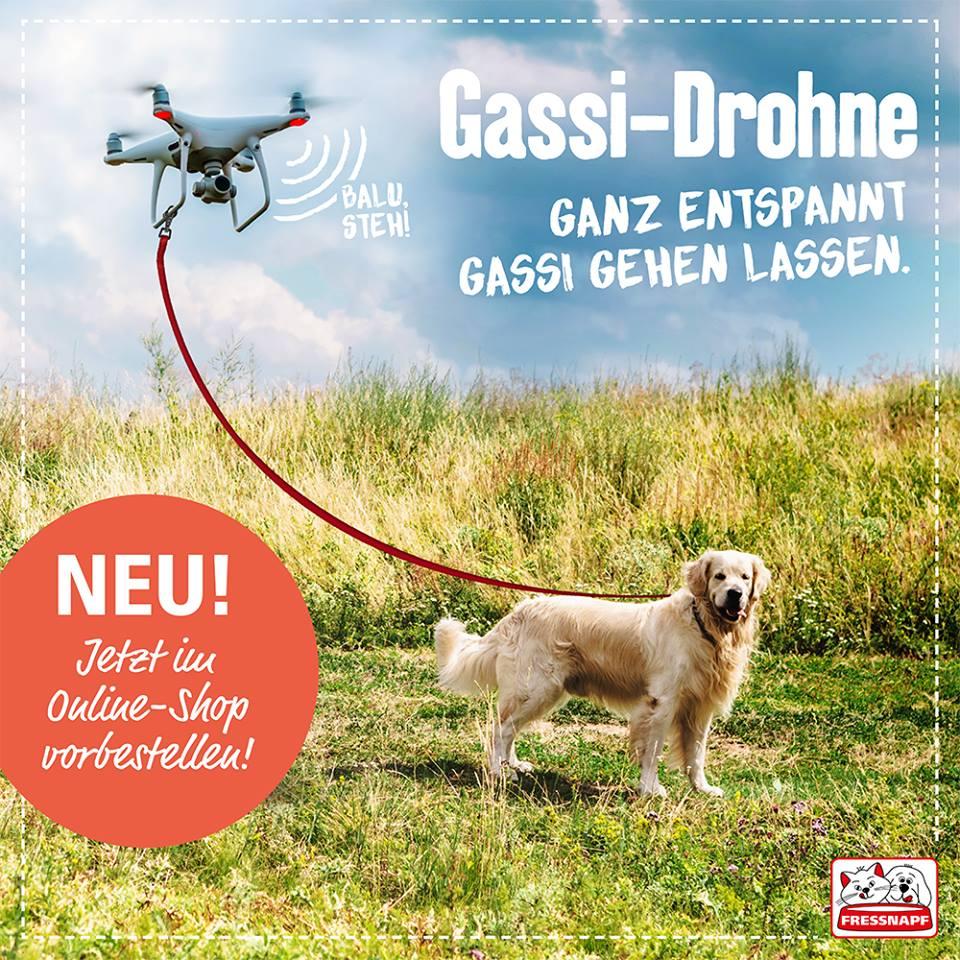 Fressnapf Gassi Drohne