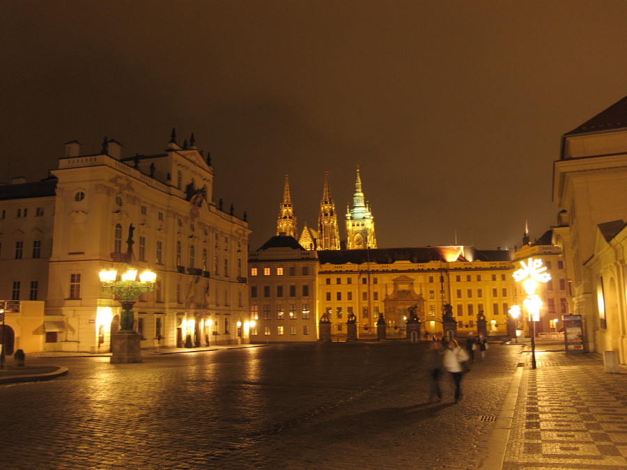 Weihnachten in der goldenen Stadt Prag
