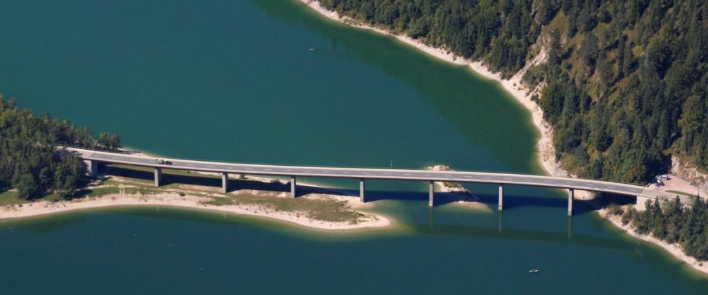 September 2015: Isar führt im Oberlauf kurzfristig mehr Wasser