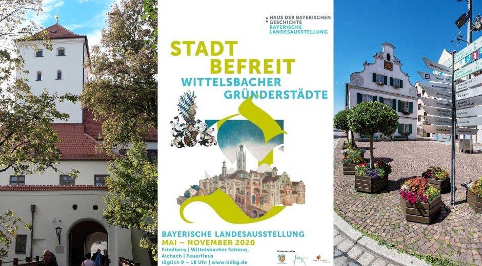 Landesausstellung  Stadt befreit Plakat