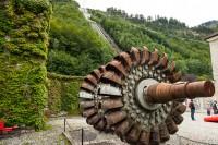 Das Laufrad der Pelton Turbine