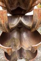 Schaufelsystem einer Pelton Turbine