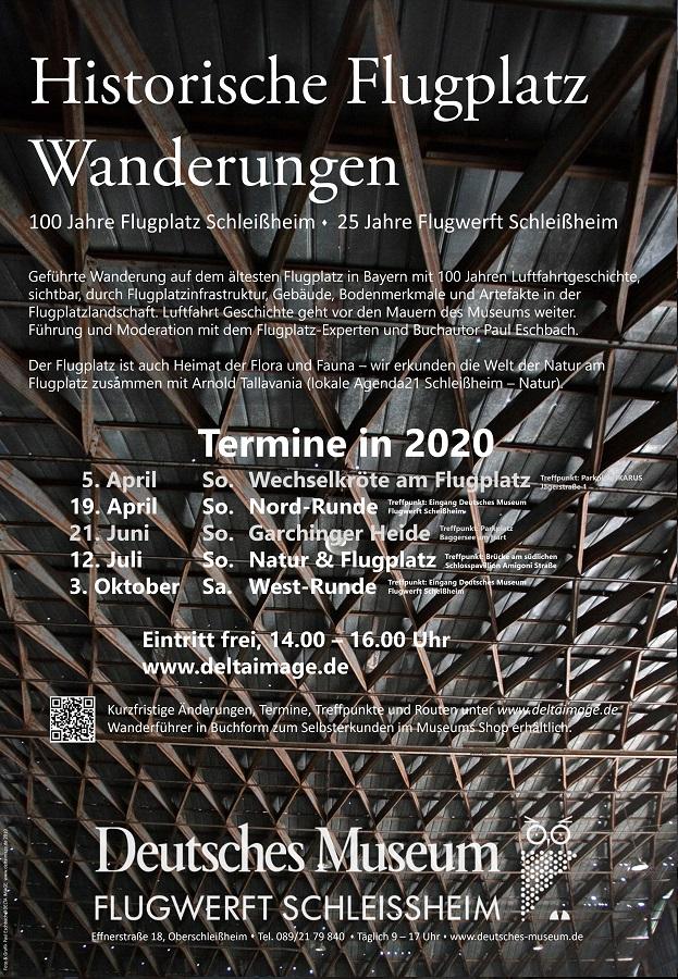 Plakat FlugplatzWanderung FWS