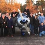 Deutscher Testpilot zu Gast beim Ikarus LSC Schleißheim e.V. in Oberschleißheim