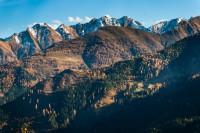 Kaiserwetter im Wilden Kaiser – den Herbst von oben geniessen