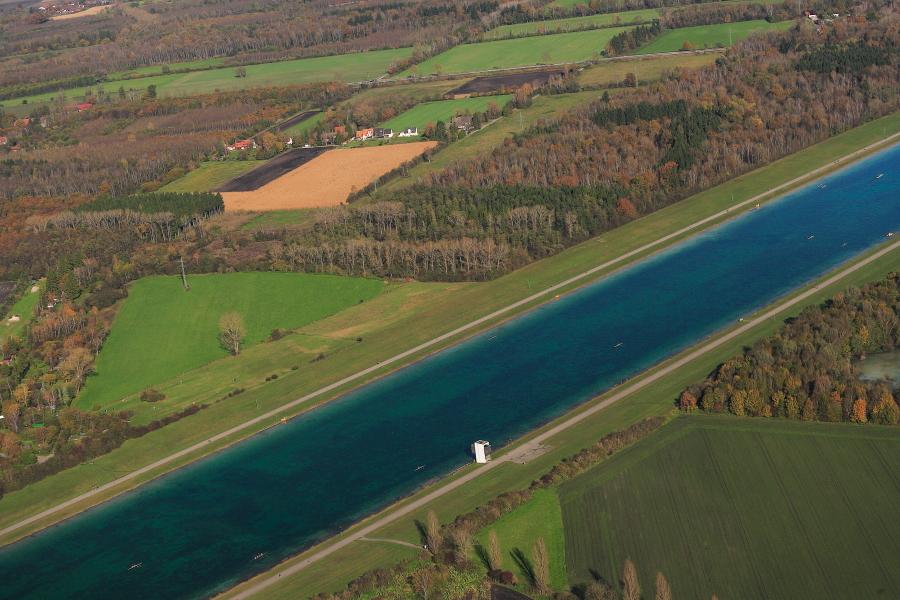 Flugplatz Oberschleißheim im Herbst