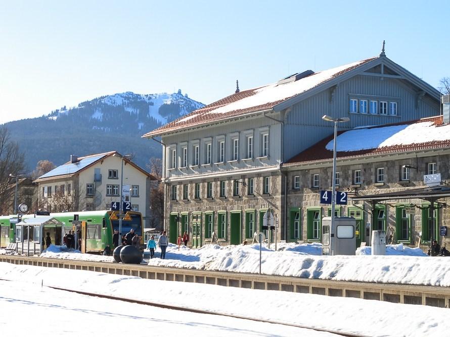 naturpark bayerischer wald e v im historischen bahnhof in bayerisch eisenstein